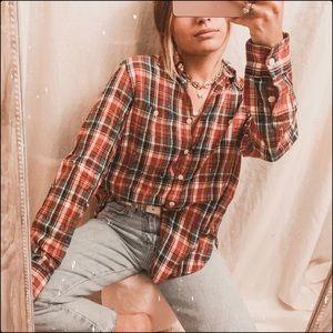 Denim & supply Ralph Lauren oversized flannel
